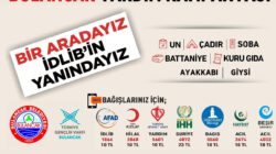 TÜGVA Bulancak'tan İdlib Yardım Kampanyası