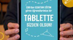 """""""Bir Tablette Senden Olsun"""" Kampanyası"""